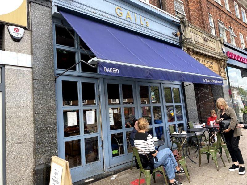 ロンドンロンドン カフェ GAIL's